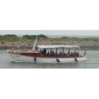 Havnerundfart/Hafen Rundfart, Esbjerg Havn, sejles af, varighed ca. 2 timer. Sejles af NH og PK