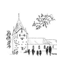 Gram kirke: Gudstjeneste v. Munch 9.00