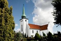 Skanderup Kirke - Gudstjeneste v/ Heidi Torp