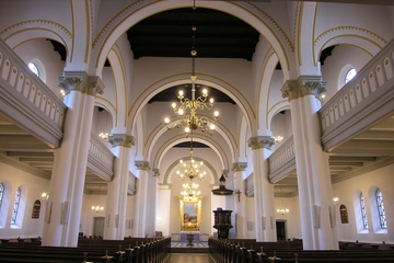 Dåbsgudstjeneste i Sognehuset v. Baatz Kristensen