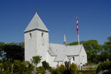 Babysalmesang i Hurup Kirke