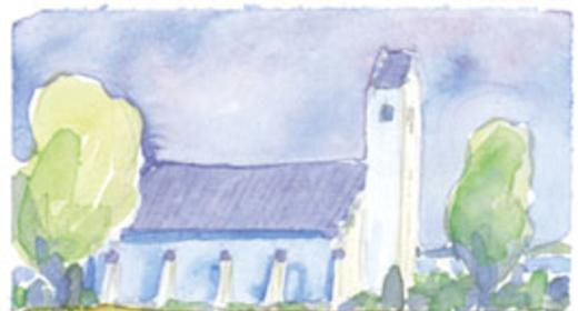 Gudstjeneste i Feldballe kirke