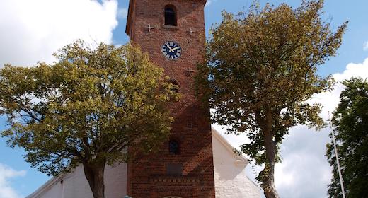 Højmesse uden nadver i Ebeltoft kirke