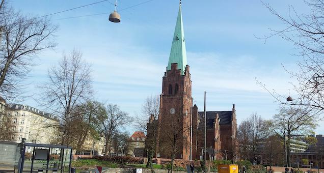 Gudstjeneste: Sankt Hans i Sankt Johannes Kirke