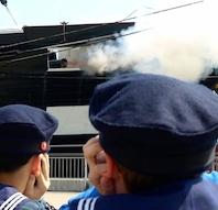 Friluftsgudstjeneste, Fregatten Jylland