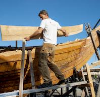 Oplev historisk bådebygning på Vikingeskibsmuseet