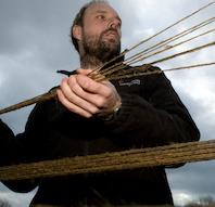 Mød rebslageren på Vikingeskibsmuseet