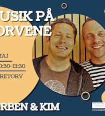 Musik på torvene - Torben & Kim