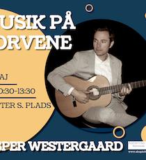 Musik på torvene - Jesper Westergaard