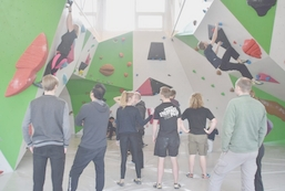 Hygge klatring m. underviser
