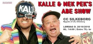 Kalle & Mek Pek's Abeshow i efterårsferien