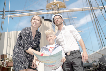 Påskeferien på Fregatten Jylland
