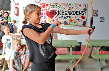 Sjove Børnedage i Birkegårdens Haver