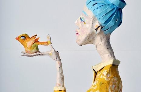 Elsa Frøsig udstiller i Aarøsund Galleri