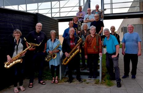 Big Band v/ Havnekiosken på Orø