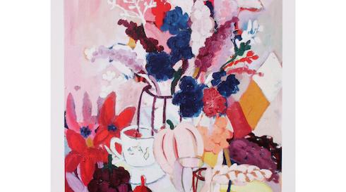 Malerkursus - Blomster og Silhuetter