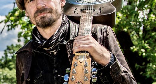 Koncert med bluessangeren Tim Lothar på Tranum Strandgård