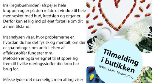 Iris Analyse med Frede Damgaard - Book tid