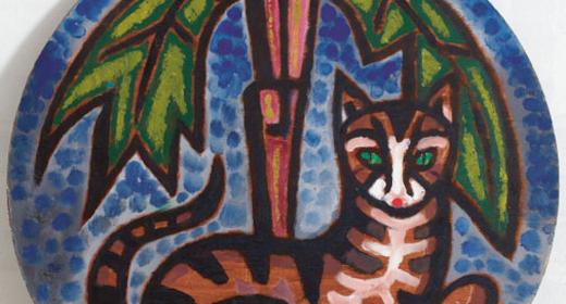Det var kattens - katten i kunsten