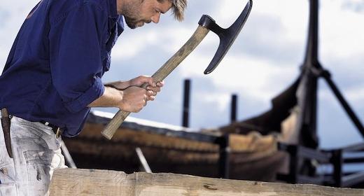 Bådebygning i Vikingetiden