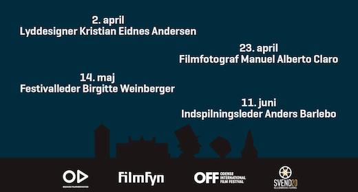 Filmoplæg: Indspilningsleder Anders Barlebo