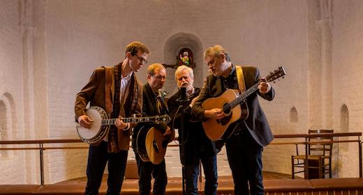 Koncert Bluegrass Boulevard og Gudstjeneste i Stalden Fussingø Slot