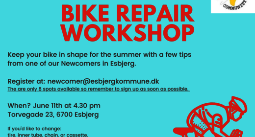 Bike Repair Workshop for tilflyttere