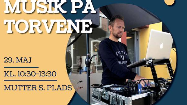 Musik på torvene - DJ Lars Solberg