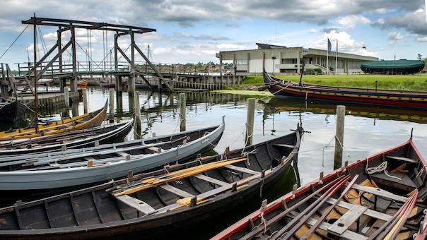 Tag på opdagelsesrejse på Vikingeskibsmuseet