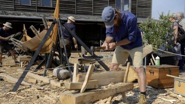 Sommerferie på Vikingeskibsmuseet