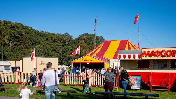 Cirkus Mascot i Sommerland Sjælland