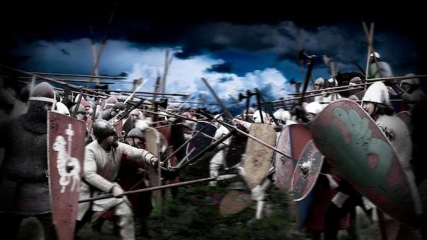 Kampen om Magten - Slaget på Grathe Hede