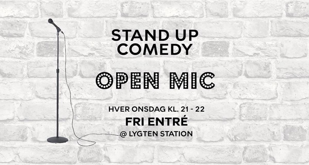 Stand Up : Open Mic