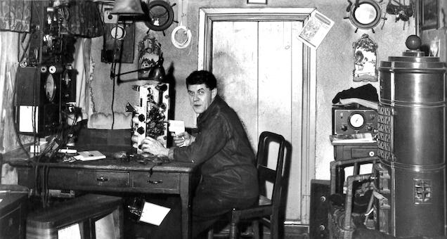 Johans Univers - personlig og radioteknisk udstilling med Due Johans liv i centrum