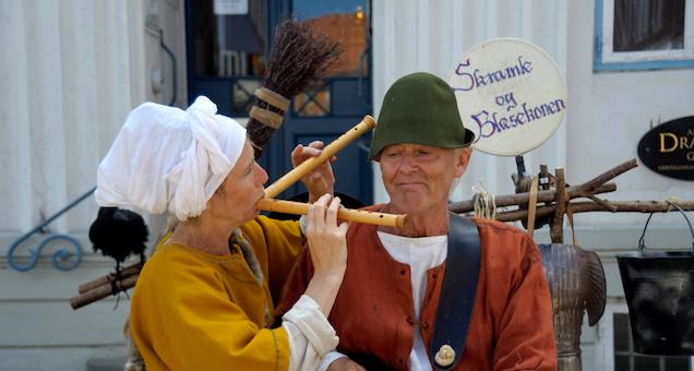 Middelalderen ved Kalø - fortællinger, musik og gøgl