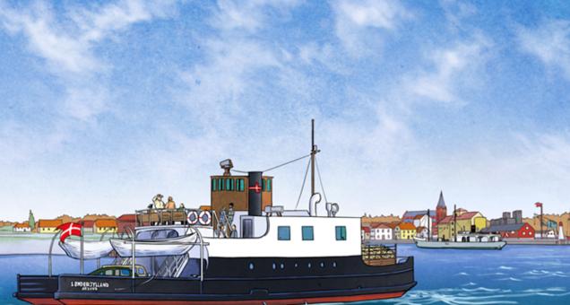 Vandvejen Assens-Årøsund 1231-1972