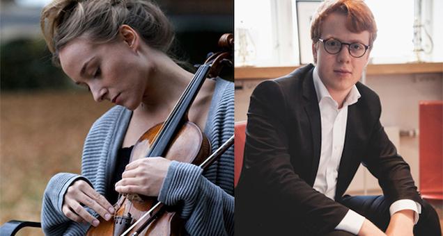 Anna Egholm, violin, Elias Holm, klaver