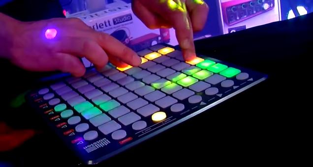 Lys på Kulturskolen. Elektronisk Musik