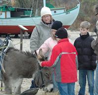Julemarked på Fiskeri- og Søfartsmuseet i Esbjerg