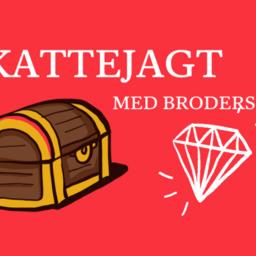Skattejagt i Ringkøbing med Brodersens.