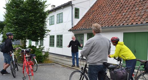 Historie på cykel- Stål, Kobber og Krudt