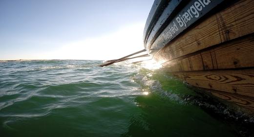 Fladbåden i Tversted, søsættes om søndagen