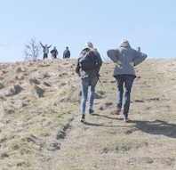 Hverdagsvandring. En udfordrende vandretur på 20 km. på Bjergetapen, med guider