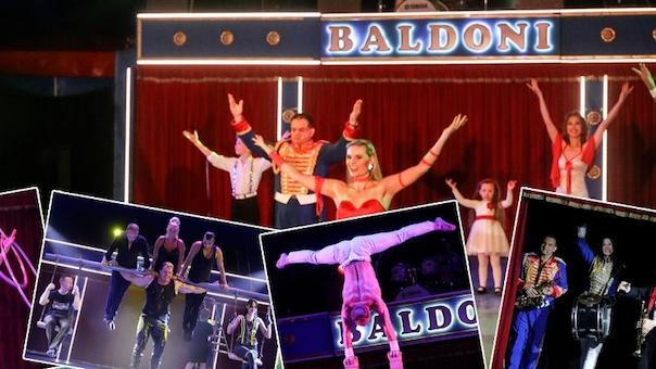 Cirkus Baldoni besøger Galten