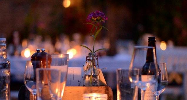 Sommerrestaurant på Brandbygegaard